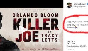 Katy Perry e la sua voglia di abbonarsi al lato b di Orlando Bloom