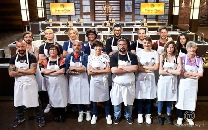 masterchef all star concorrenti