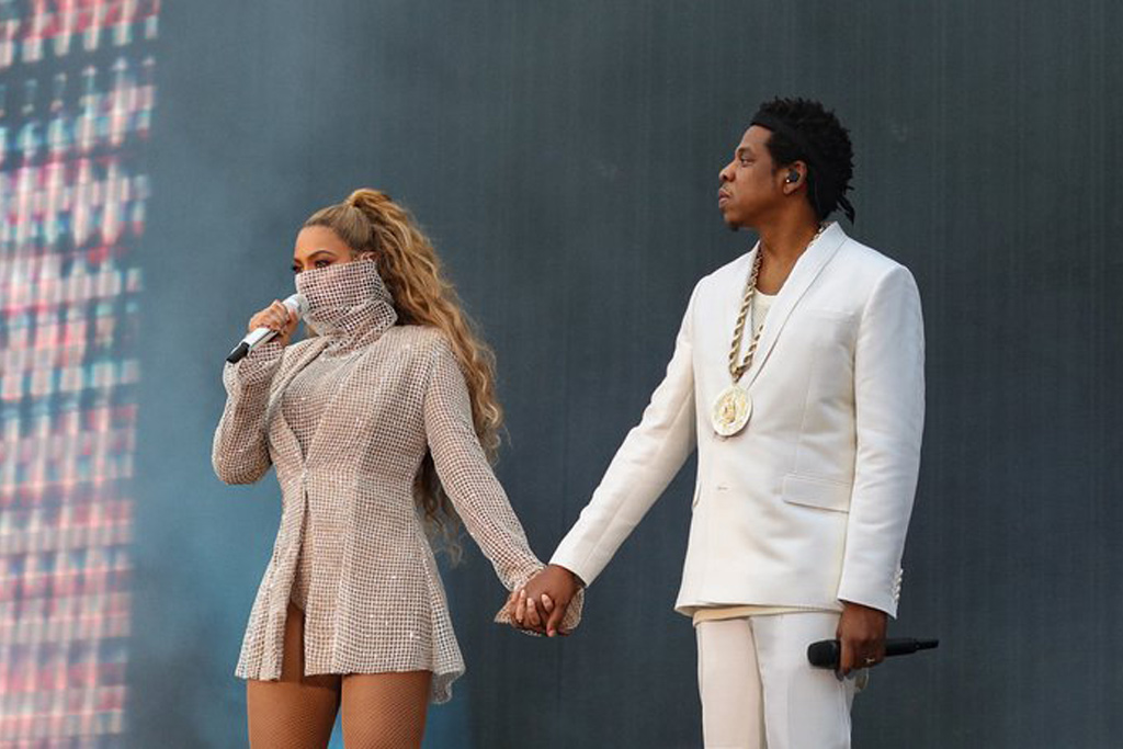 Beyoncé e Jay-Z in Italia
