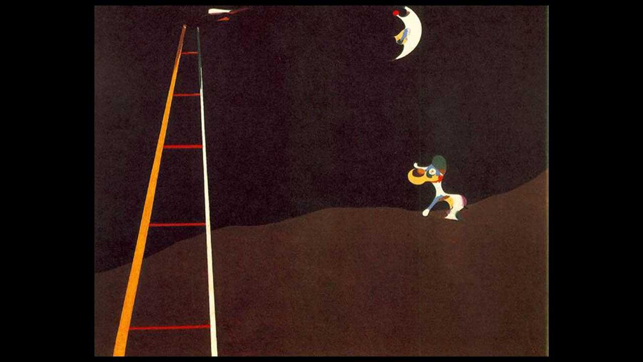 Joan Mirò – Il cane che abbaia alla luna