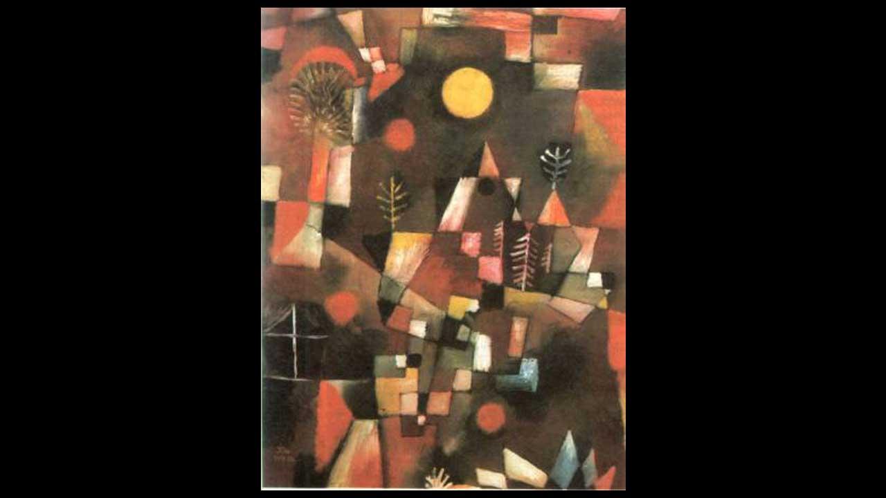 Paul Klee - Luna piena