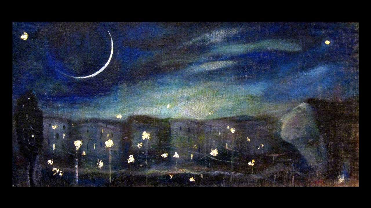 Lucia Merli - Falce di luna sulla città