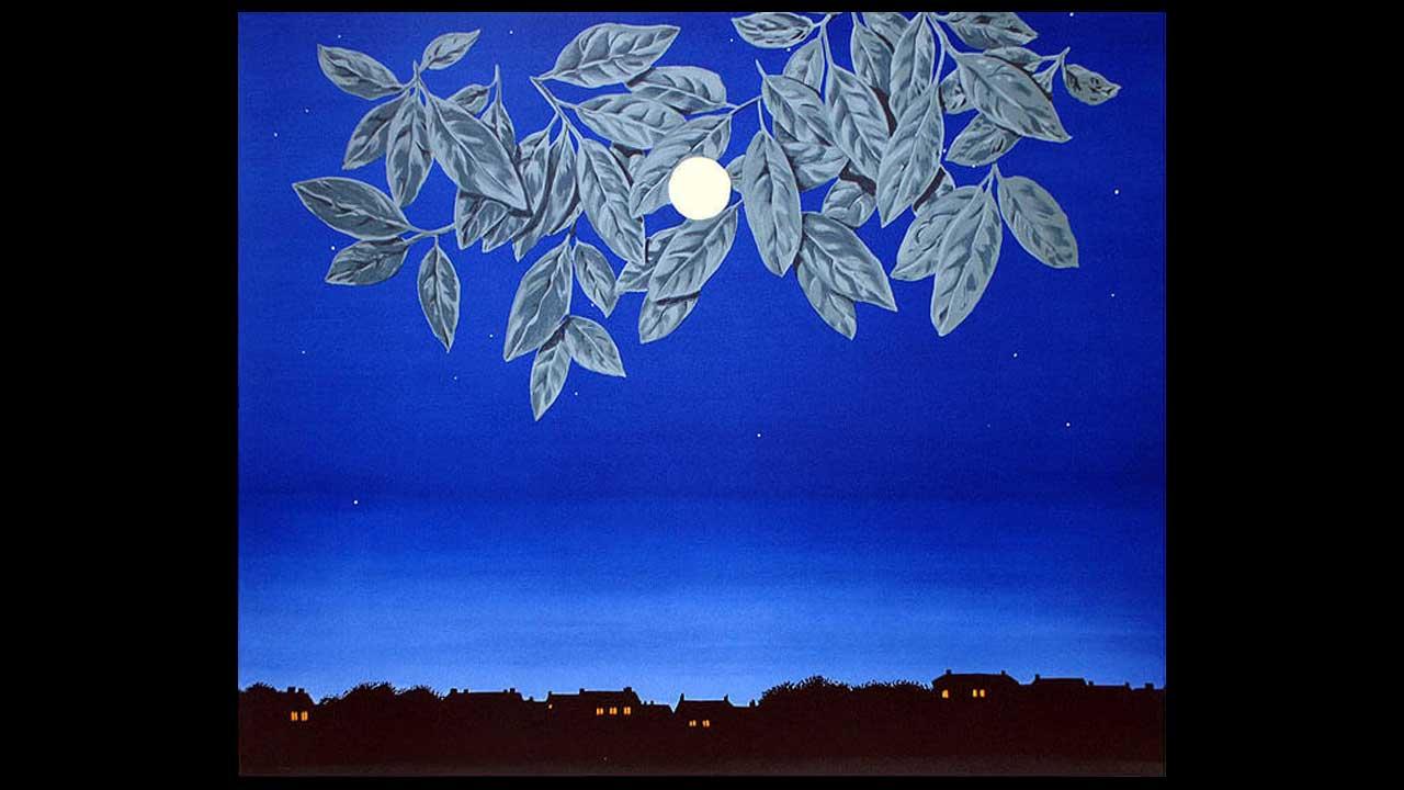 Magritte - La page blanche