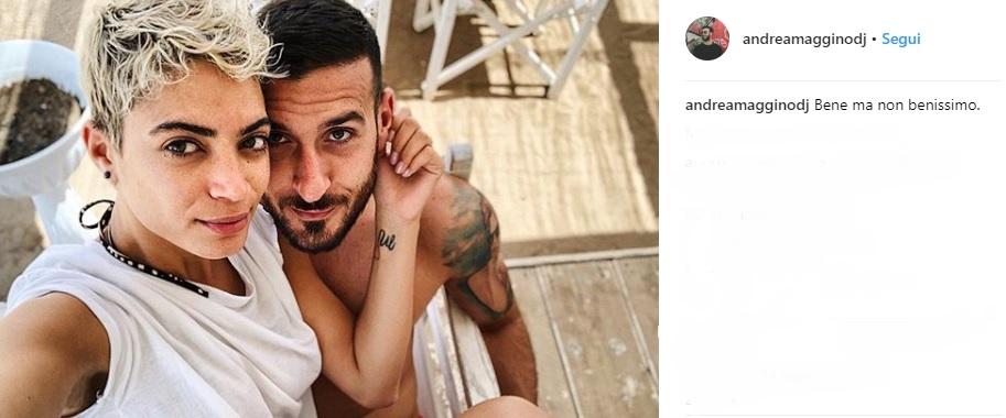 elodie de patrizi su instagram con il nuovo fidanzato