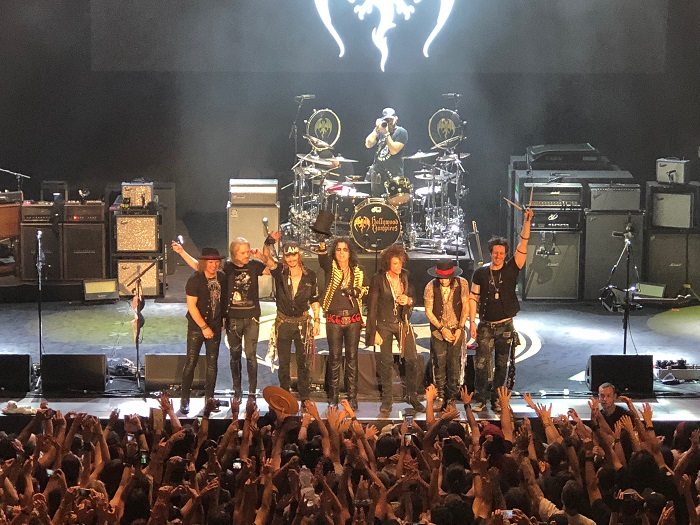 Hollywood Vampires a Rock in Roma