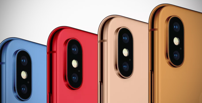 iphone colorati
