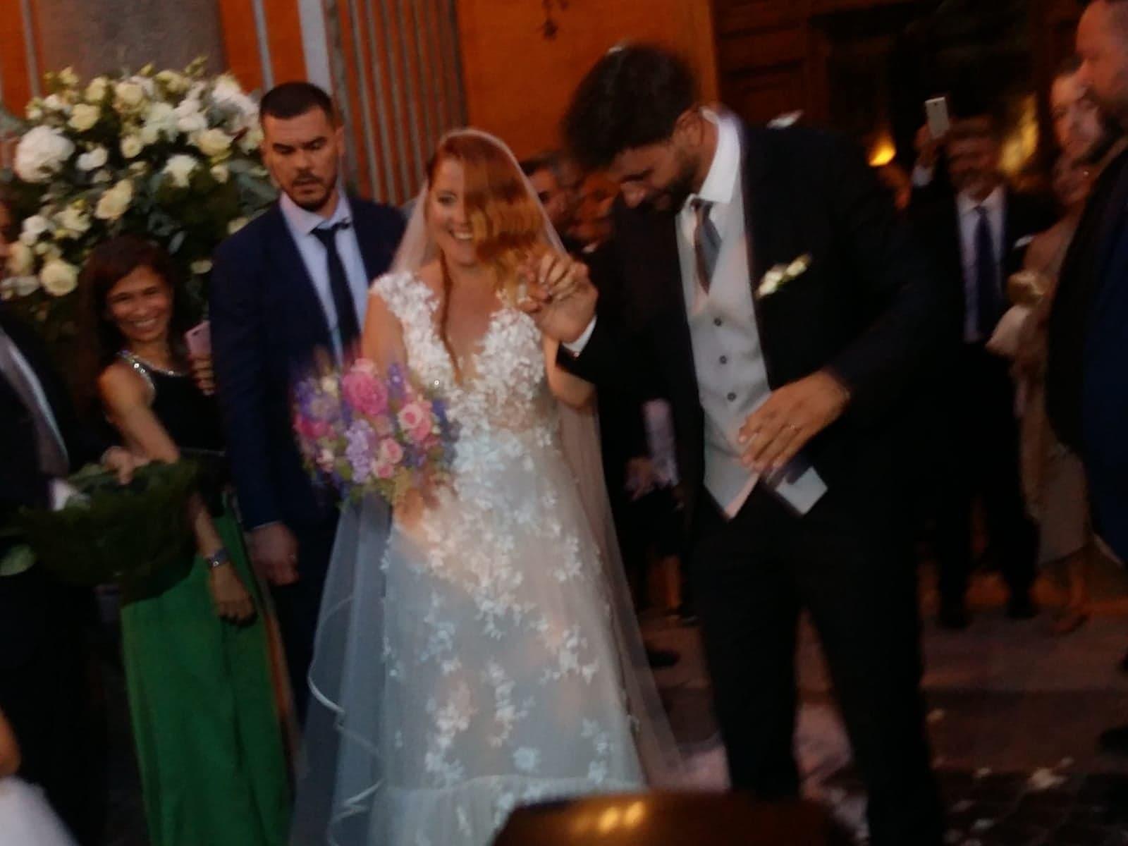 Matrimonio Noemi : Noemi si è sposata matrimonio a roma con il bassista