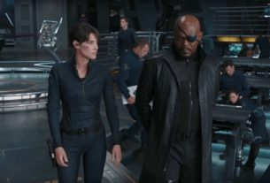 Nick Fury e Maria Hill