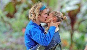 justin bieber e hailey baldwin bacio