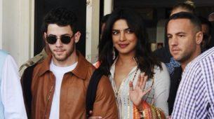 Priyanka Chopra e Nick Jonas in India