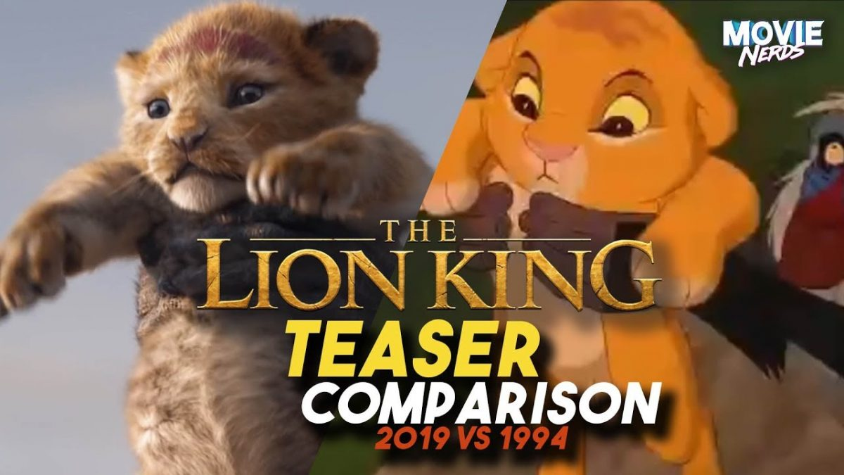 Il re leone live action vs cartone animato i trailer a confronto