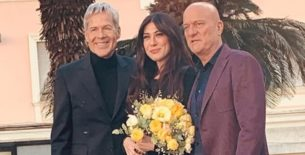 Virginia Raffaele e Claudio Bisio