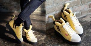 scarpe di pikachu