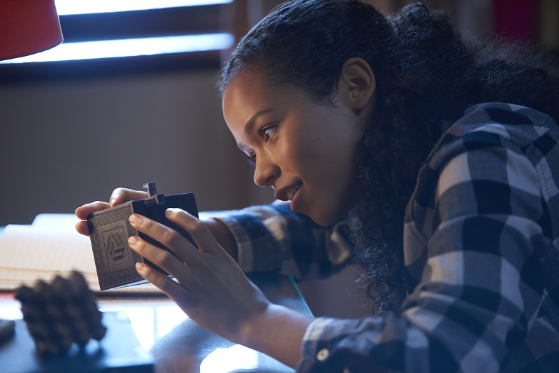 Taylor Russell stars in ESCAPE ROOM