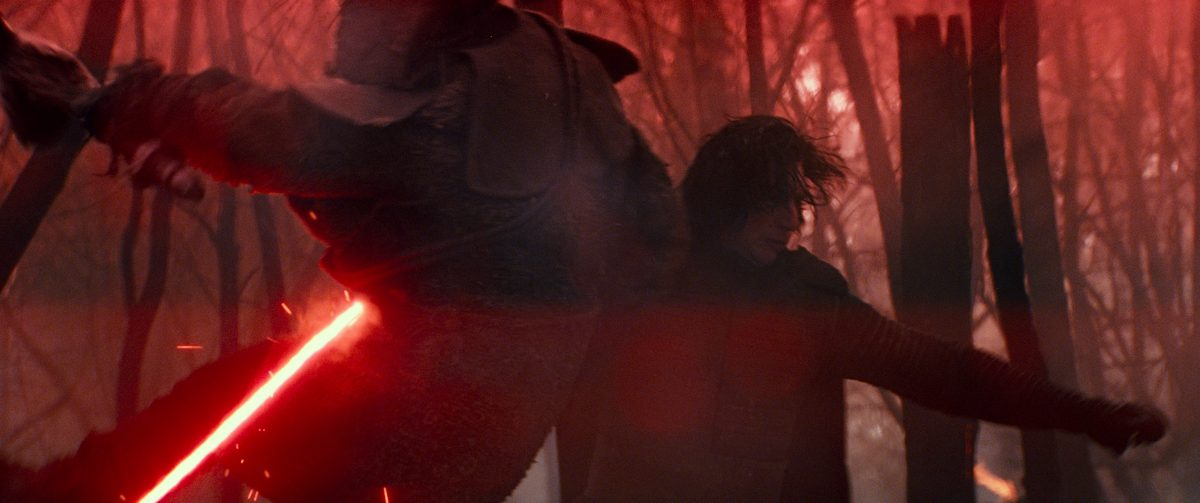 Kylo Ren (Adam Driver) in STAR WARS:  EPISODE IX