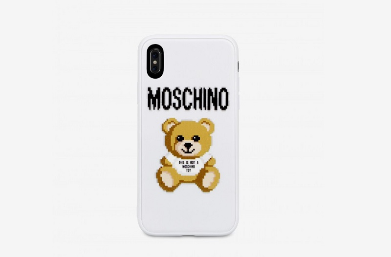 COVER IPHONE XS PIXEL TEDDY BEAR (50 euro)