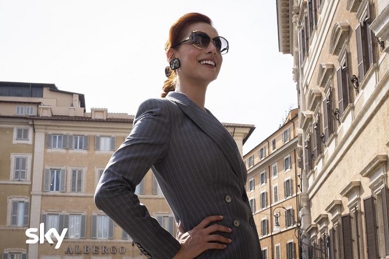 Miriam Leone (Veronica Castello)_photo di Antonello&Montesi (c)SkyWildside2019