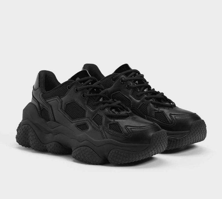 Sneakers con suola XL Billie Eilish x Bershka (45,99 euro)