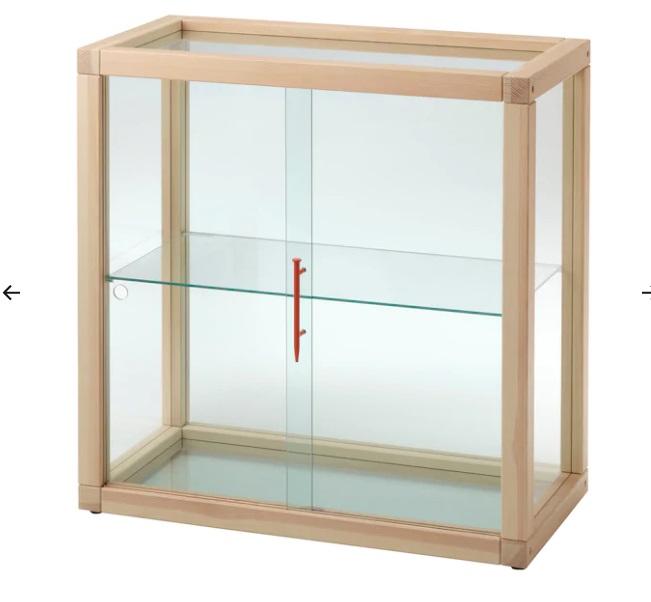 Vetrina, pino, 80x80 cm (179 euro)