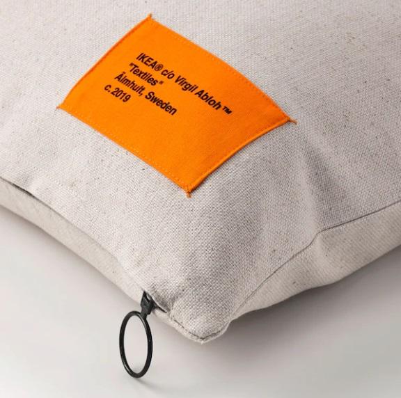 Fodera per cuscino, beige, 40x65 cm (13 euro)