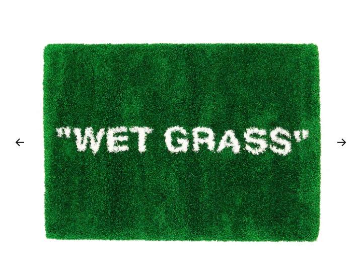 Tappeto, pelo lungo, verde, 133x195 cm (159 euro)