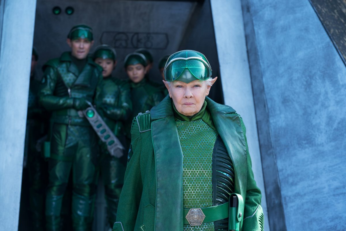 Judi Dench is Commander Root in Disney's ARTEMIS FOWL, an adventure that finds 12-year-old genius Artemis Fowl in a battle of strength and cunning against a powerful, hidden race of fairies who may be behind his father's disappearance.