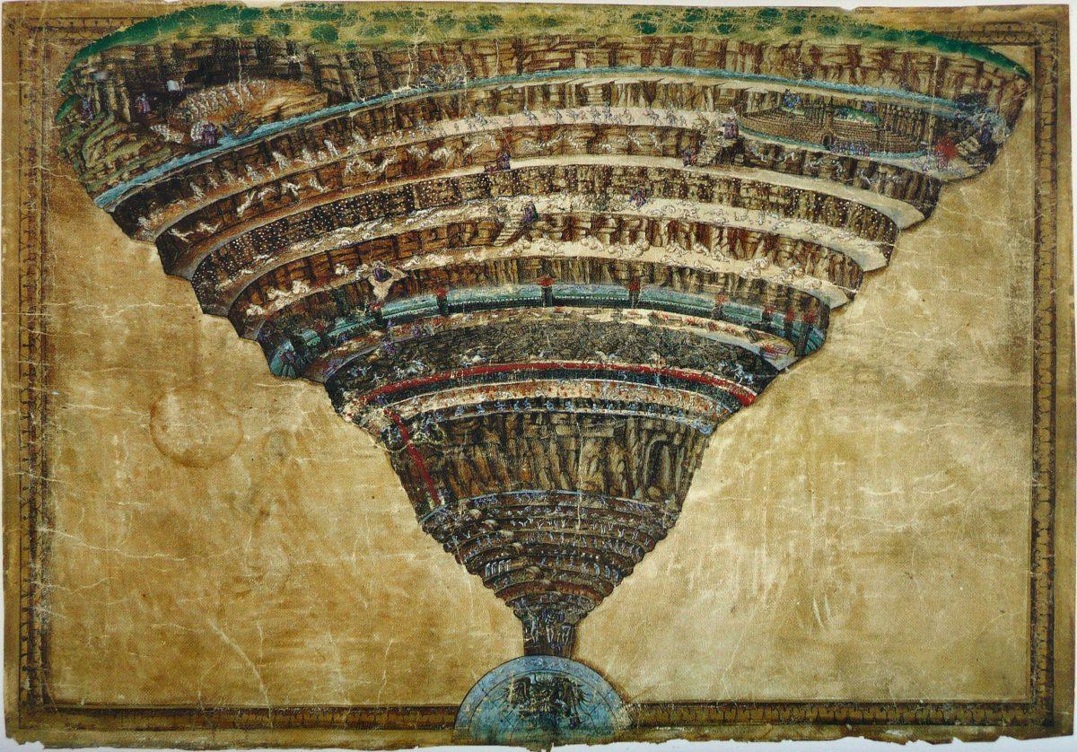 Sandro Botticelli, La voragine infernale