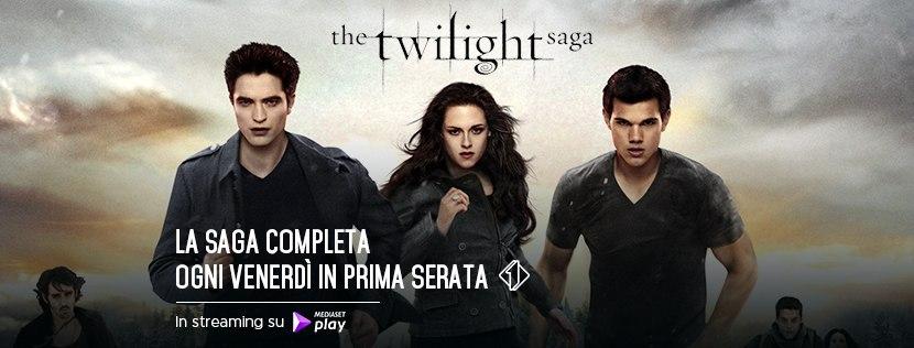 Arriva la maratona Twilight. Tutti i film della saga ogni venerdì ...