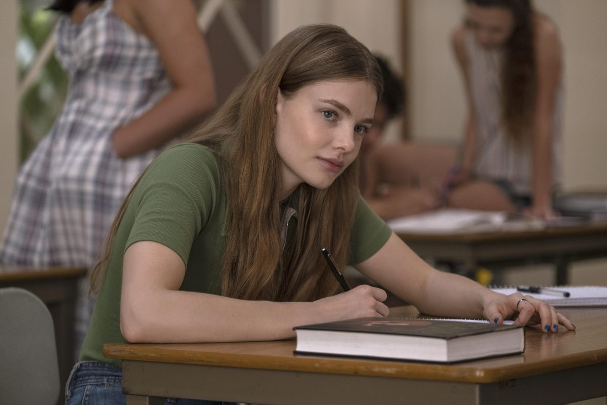 """Looking For Alaska -- Episode -- Looking For Alaska is an 8-episode limited series based on the John Green novel of the same name. It centers around teenager Miles """"Pudge"""" Halter (Charlie Plummer), as he enrolls in boarding school to try to gain a deeper perspective on life. He falls in love with Alaska Young (Kristine Froseth), and finds a group of loyal friends. But after an unexpected tragedy, Miles and his close friends attempt to make sense of what they've been through. , shown. (Photo by: Steve Dietl/Hulu)"""