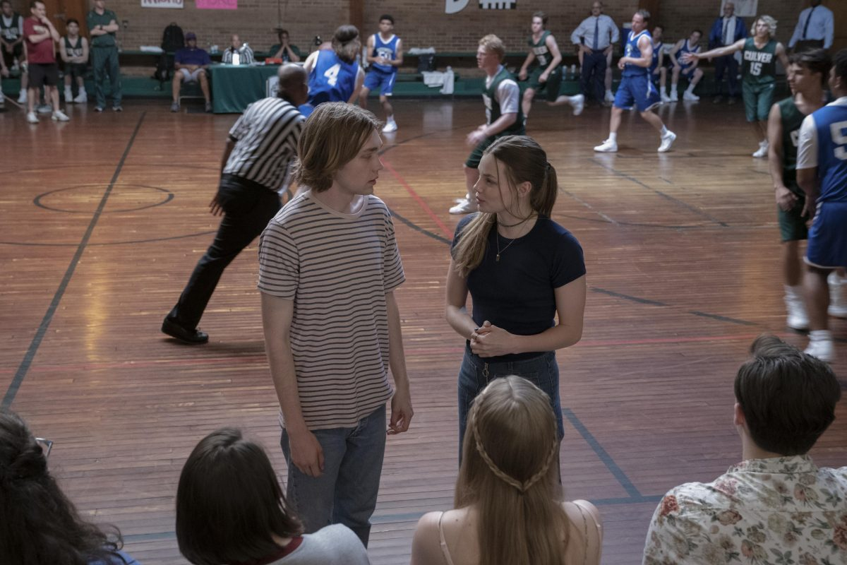 """Looking For Alaska -- """"They Couldn't Hit An Elephant From This Dist…"""" - Episode 103 -- Alaska sets Miles up on a triple and a half date that does not go as planned, while a fragile truce with the Weekday Warriors proves short lived. Miles (Charlie Plummer) and Alaska (Kristine Froseth), shown. (Photo by: Alfonso Bresciani/Hulu)"""