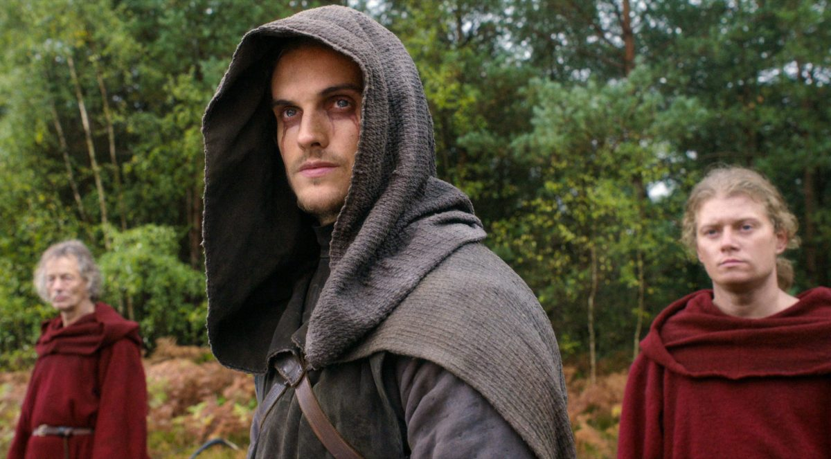 CURSED (L to R) DANIEL SHARMAN as THE WEEPING MONK in episode 107 of CURSED Cr. COURTESY OF NETFLIX © 2020