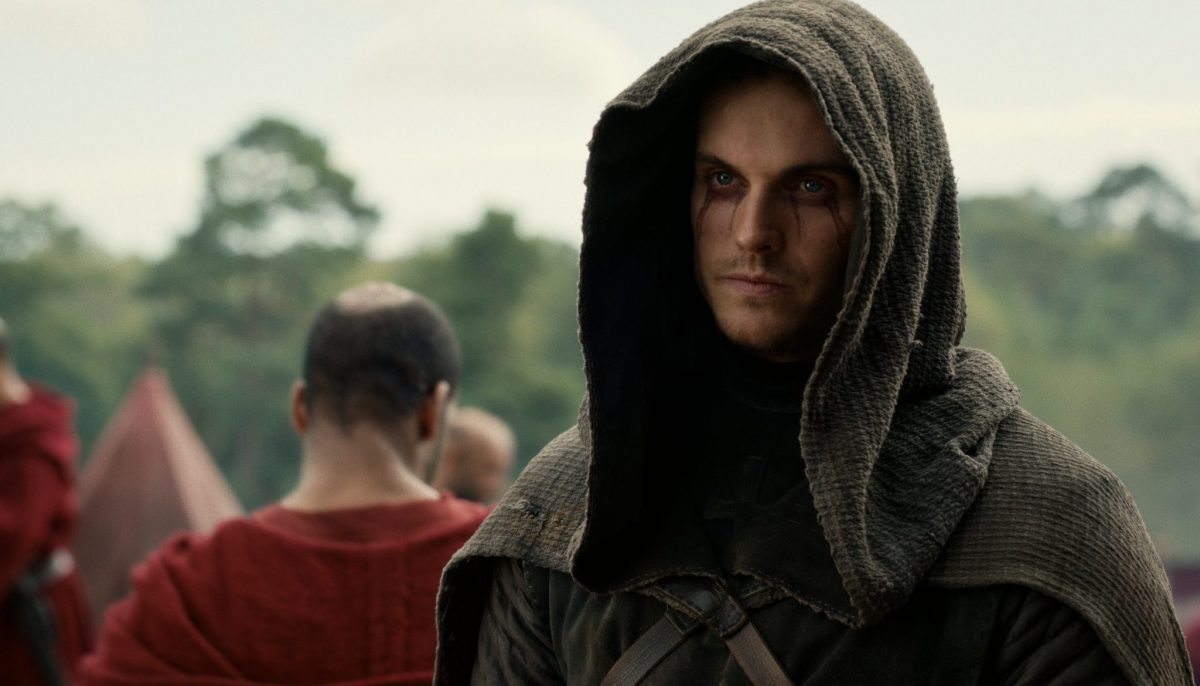 CURSED (L to R) DANIEL SHARMAN as THE WEEPING MONK in episode 109 of CURSED Cr. COURTESY OF NETFLIX © 2020