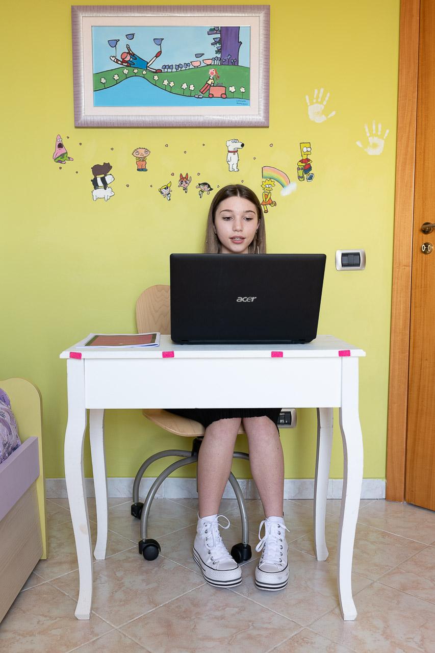 Giovanna ha presentato un lavoro sull'equità di genere.