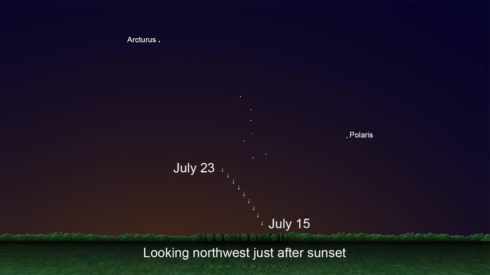 Occhi al cielo per non perdere lo spettacolo della cometa Neowise
