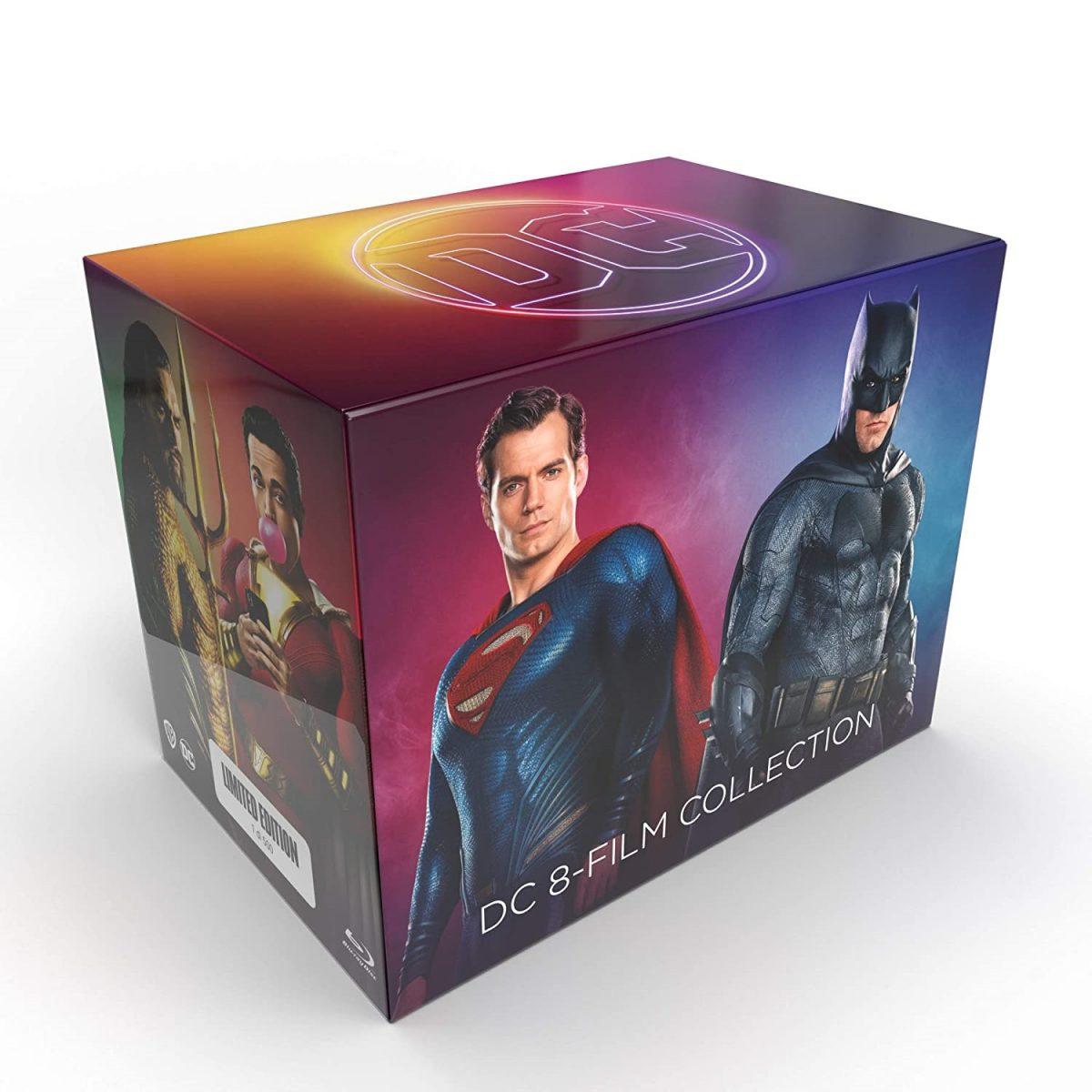 DC FILM 8 COLLECTION BOXSET - Dal 13 ottobre il cofanetto in edizione limitata numerata