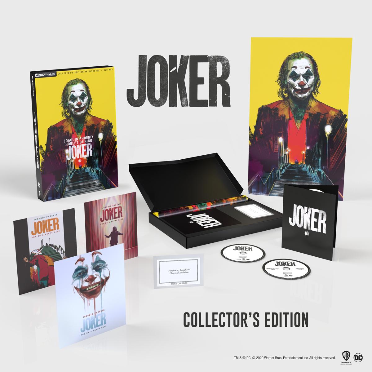 Dal 9 dicembre 'Joker Collector's Edition' esclusivo cofanetto in edizione limitata