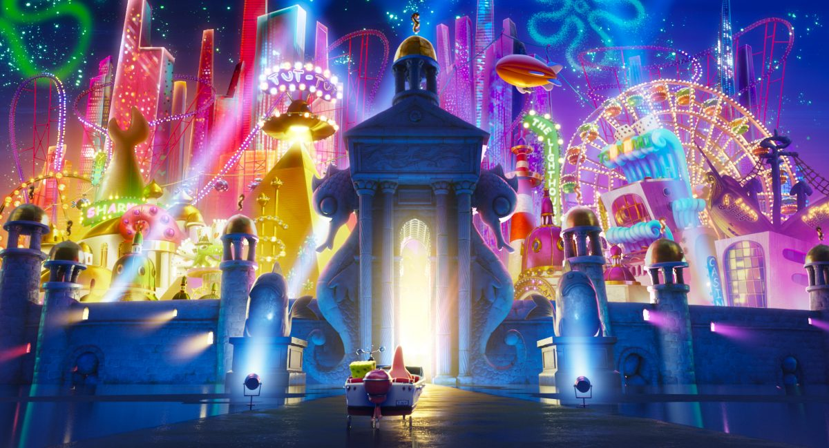 THE SPONGEBOB MOVIE: SPONGE ON THE RUN from Paramount Animation and Nickelodeon Movies. Photo Credit: Paramount Animation.