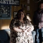 """THIS IS US -- """"Forty Part 1/Forty Part 2"""" Episode 501/502 -- Pictured in this screengrab: (l-r) Chrissy Metz as Kate, Chris Sullivan as Toby -- (Photo by: NBC)"""