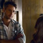 """THIS IS US -- """"Forty Part 1/Forty Part 2"""" Episode 501/502 -- Pictured in this screengrab: (l-r) Justin Hartley as Kevin, Chrissy Metz as Kate -- (Photo by: NBC)"""