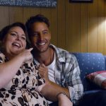 """THIS IS US -- """"Forty Part 1/Forty Part 2"""" Episode 501/502 -- Pictured in this screengrab: (l-r) Chrissy Metz as Kate, Justin Hartley as Kevin -- (Photo by: NBC)"""