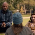 """THIS IS US -- """"Changes"""" Episode 503 -- Pictured in this screengrab: (l-r) Chris Sullivan as Toby, Annie Funke as Ellie, Chrissy Metz as Kate -- (Photo by: NBC)"""