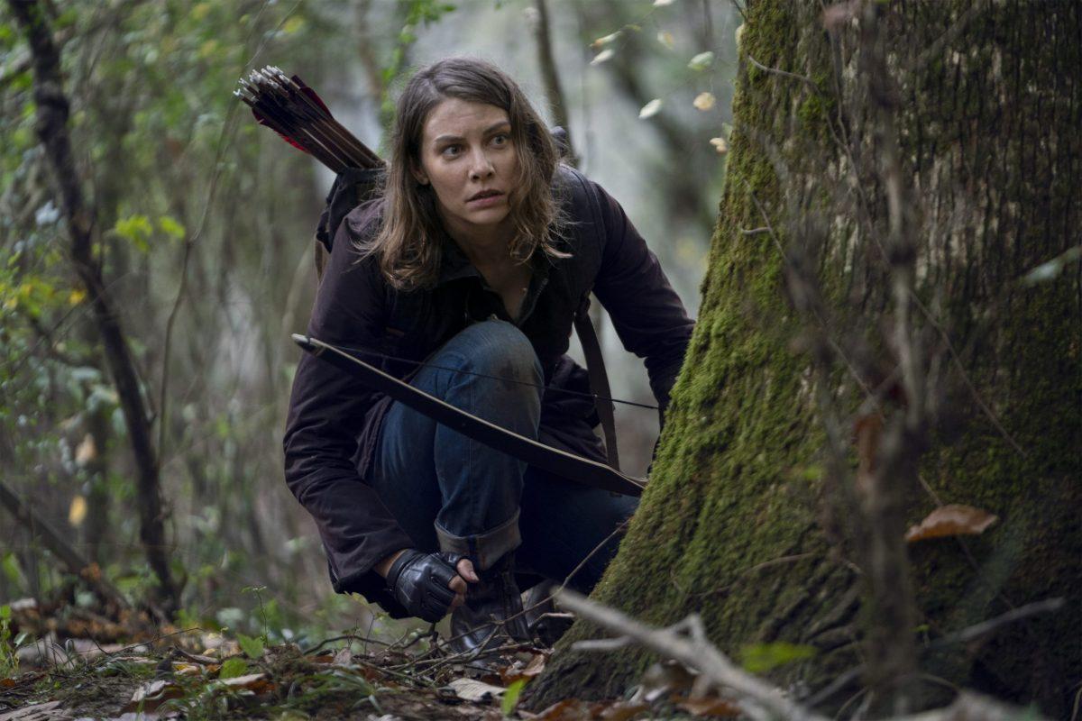 Lauren Cohan as Maggie; single - The Walking Dead _ Season 10, Episode 17 - Photo Credit: Eli Ade/AMC