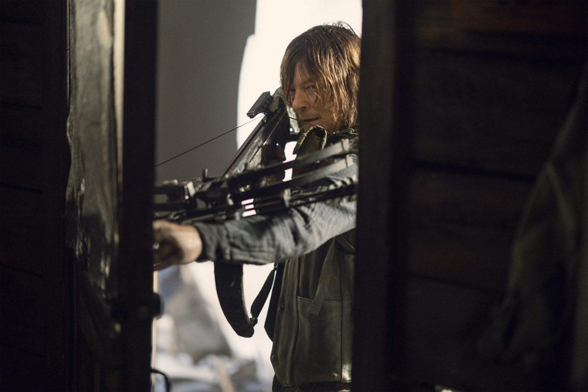 Norman Reedus as Daryl Dixon; single - The Walking Dead _ Season 10, Episode 18 - Photo Credit: Eli Ade/AMC