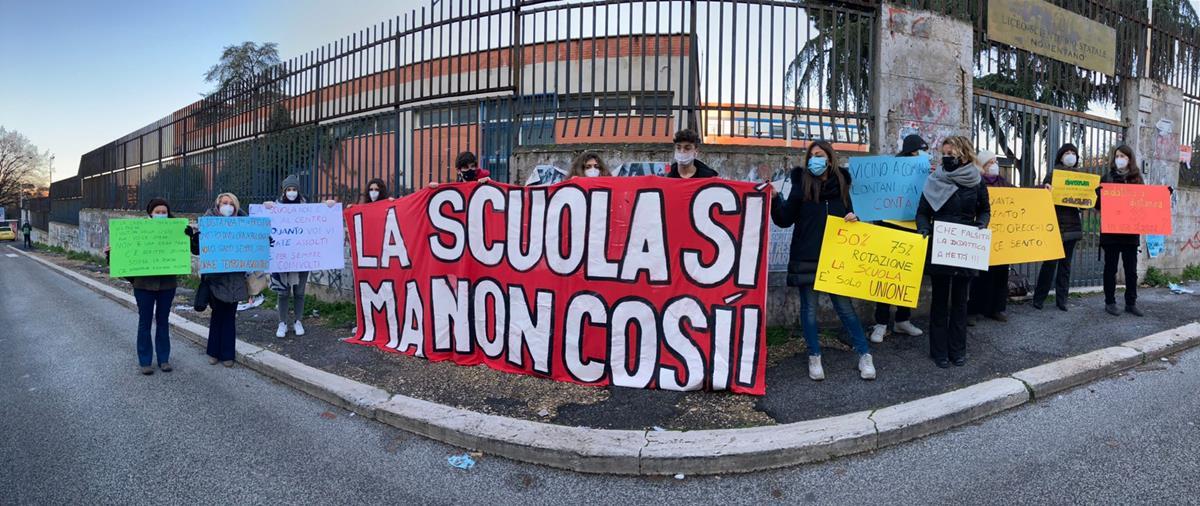 protesta liceo Nomentano (4)