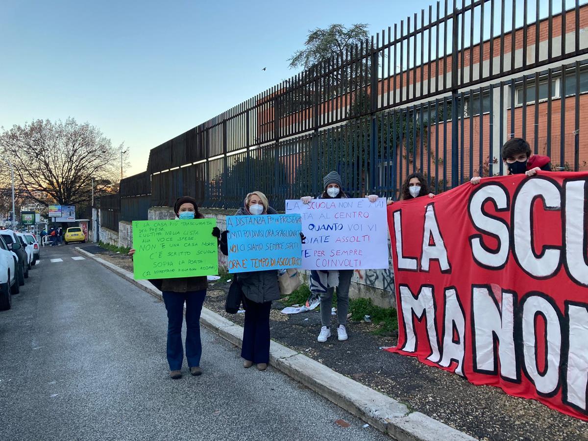 protesta liceo Nomentano (5)