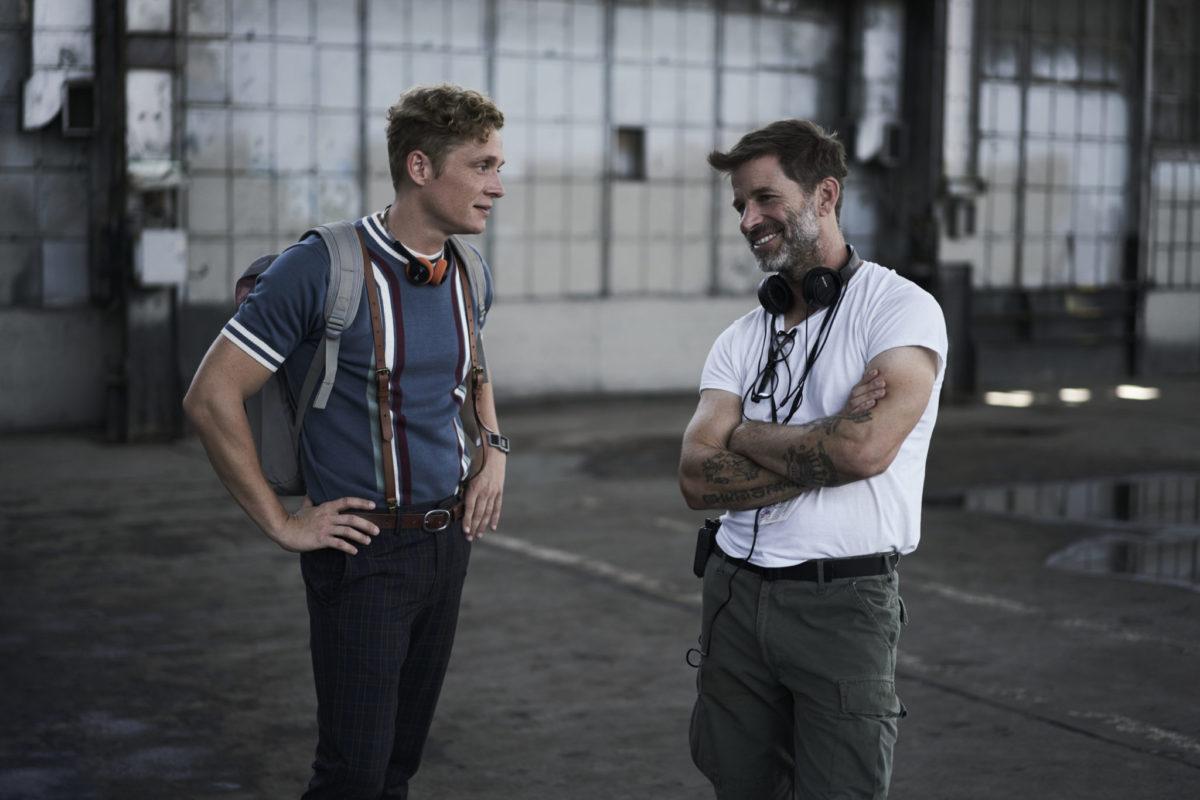 ARMY OF THE DEAD - (L-R) Matthias Schweighšfer as Dieter, Zack Snyder (Director/Producer/Writer), Cr: Clay Enos/NETFLIX ©2020
