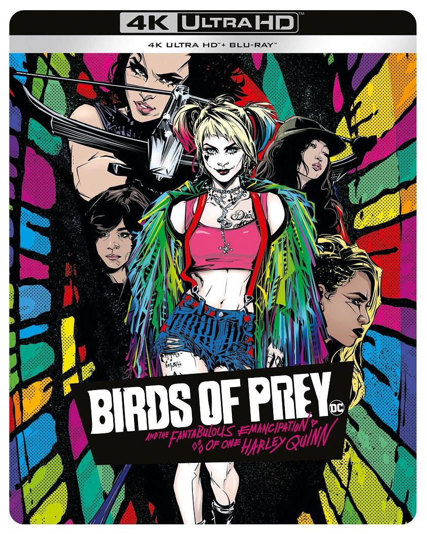 BIRDS_OF_PREY_Comic_4k