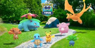 Tour di Pokémon GO di Kanto