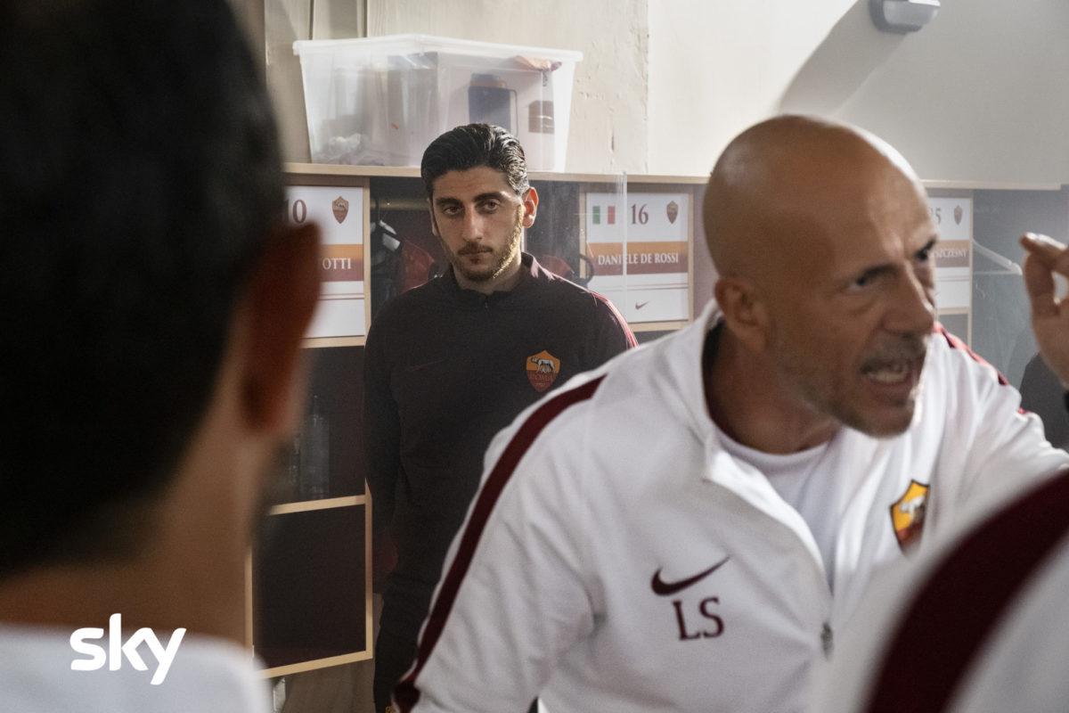 """Speravo de morì prima"", a Sky's Tv Serie focused on Roma's football player Francesco Totti."