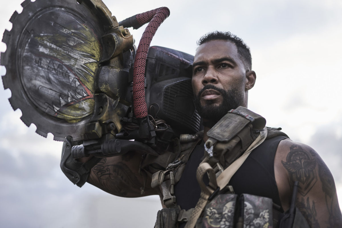 ARMY OF THE DEAD (L to R) OMARI HARDWICK as VANDEROHE in ARMY OF THE DEAD. Cr. CLAY ENOS/NETFLIX © 2021